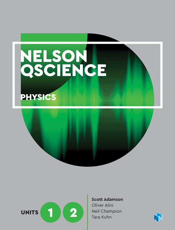 Nelson QScience Physics Units 1 & 2 (Student Book with 4 Access